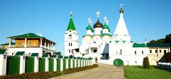 Pechersky ascension monastery nizhny novgorod Stock Photos