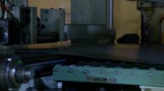 Press Machine autotehtaan Arkistovideo