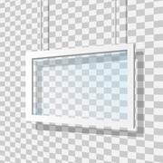 glass lens vector illustration - stock illustration