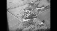 WW2 - US Air Force - Aircraft 11 - DC-3 in Air - Hadrian Landing Stock Footage