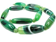 Stock Photo of agate semigem beads