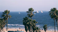 Stock Video Footage of Venice Beach - Los Angeles