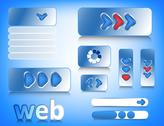 Stock Illustration of Web design elements