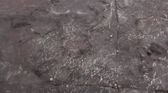 Geology - Sedimentary structures - Ichnofacies / Trace Fossils Stock Footage