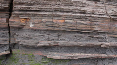 Geology - Sedimentary structures Stock Footage