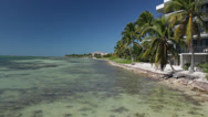 Stock Video Footage of Eroded Key West Beach