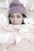 Flu winter Stock Photos