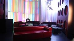 interior shot of bar - stock footage