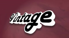 VINTAGE LOGO Stock After Effects
