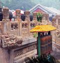 Stock Photo of fragments of the famous puning temple in chengde, china