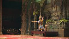 Stock Video Footage of siem reap, cambodia - 23 dec 2013: apsara cambodia khmer traditional dance. i