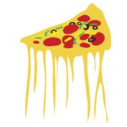 Pizza vector Stock Illustration