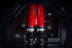 Ferrari California Engine Stock Photos