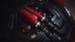 Ferrari California Moottori Offset Kuvituskuvat