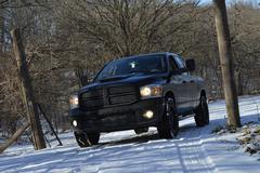 Dodge Ram 2008 - stock photo