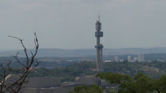 Communication Tower 01 NTSC Stock Footage