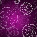 Stock Illustration of abstract gear background