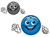 Bowling ball Stock Illustration