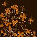 Stock Illustration of abstract floral background