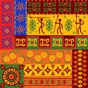 Stock Illustration of abstract ethnic patterns and ornaments