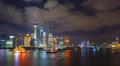 Shanghai, Timelapse, Pudong Skyline across Huangpu River 4k or 4k+ Resolution