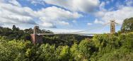 Stock Photo of United Kingdom, England, Bristol, Clifton, Clifton Suspension Bridge