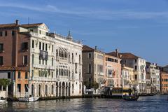 Italy, Venice, Canale Grande Stock Photos