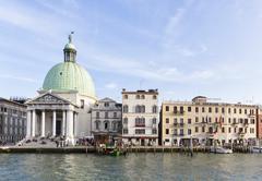 Italy, Venice, Canale Grande, Stock Photos