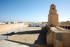 Great mosque of kairouan tunisia Stock Photos