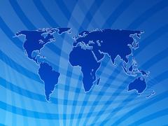 Maailmankartalta tausta Piirros