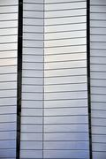 Modern architecture detail, stadium exterior - stock photo
