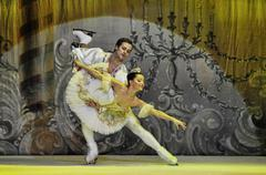 The russian Sankt Petersburg State Ballet on Ice performs The Nut Cracker Stock Photos