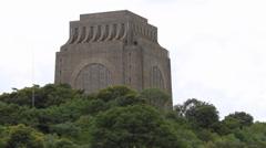 Voortrekker Monument Stock Footage