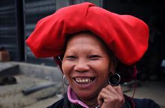 Red Dao minority in Vietnam Kuvituskuvat