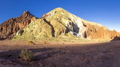 South America, Bolivia, Atacama Desert, Valle del Arcoiris Stock Photos