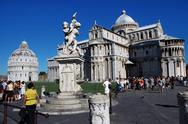 Stock Photo of Piazza del Miracoli, Pisa, Italy