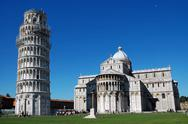 Stock Photo of The Leanig tower of Pisa
