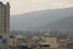 Tl20-penang-penang hill clouds Stock Footage