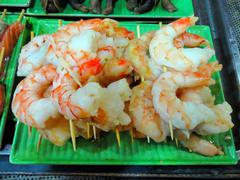 Street food in Saigon, Vietnam - stock photo