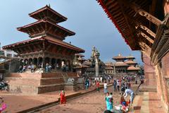 Patan, Nepal - stock photo