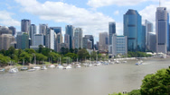 Stock Video Footage of Brisbane City