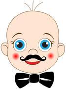 little gentleman - stock illustration