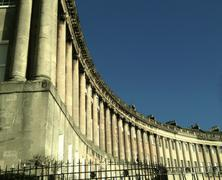 The Royal Crescent, Bath, United Kingdom - stock photo