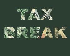 Tax Break - stock illustration