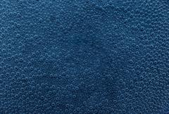 Stock Photo of blue air bubbles
