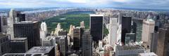 New Yorkin horisonttiin panorama Kuvituskuvat