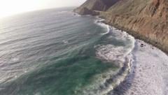 Stock Video Footage of Big Sur Coast Aerials