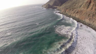 Stock Video Footage of Big Sur Coast Aerials