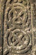 Saxon stone carving Stock Photos