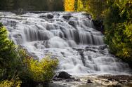 Stock Photo of Bond Falls Cascade